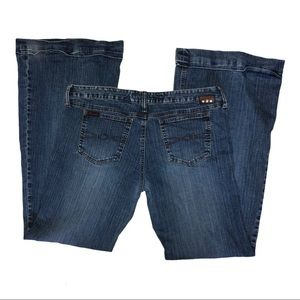 Vintage Y2K MUDD flares jeans size 13